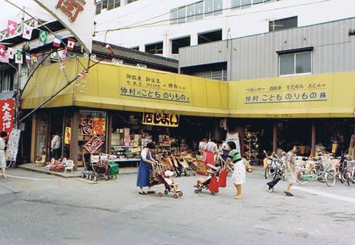 吹田の商店街